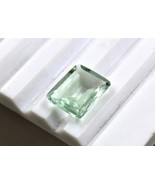 NATURAL AQUAMARINE OCTAGON CUT 7.75 CARATS GEMSTONE FOR RING PENDANT - $150.10
