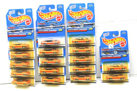 17 pc Hot Wheels 1970 Plymouth Barracuda Die Cast Car #24077 Lot New On Card - $22.43