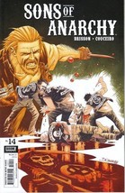 Sons of Anarchy TV Series Comic Book #14, Boom 2014 NEW UNREAD - $4.99