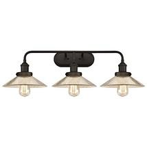 Westinghouse Lighting 6337800 Bonnie Three-Light Indoor Wall Fixture, Finish Gla - $159.79
