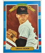 1991 Donruss Diamond Kings #23 Gregg Olson Baseball Card - $2.16