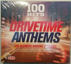 Drivetime Anthems 100 Ultimate Driving Classics Compilation CD Album 5 D... - $10.49