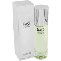 Dolce & Gabbana Feminine 3.4 Oz Eau De Toilette Spray image 1