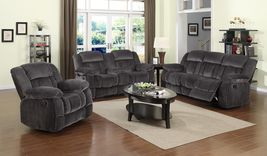 Madison Collection SU-LN550-3PCSET 3 Piece Reclining Living Room Set wit... - $3,295.99