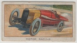 1914 Auto Speed World Record Hornsted Blitzenbenz Brooklands 1920s Trade... - $4.49