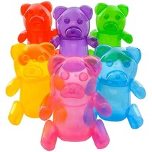 1 LARGE 24 INCH TRANSPARENT INFLATABLE GUMMY BEARS inflate novelty candy... - $4.47