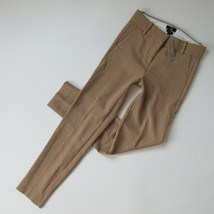 NWT J.Crew Cameron Slim Crop in Heather Saddle Four Season Stretch Pants 10 - $52.00