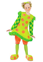 """SILLY CIRCUS """"LOLLI THE CLOWN"""" CHILD HALLOWEEN COSTUME GIRL'S SIZE SMALL... - $24.89"""