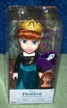 "My First Disney FROZEN Petite QUEEN ANNA  6.5"" Doll New - $16.50"