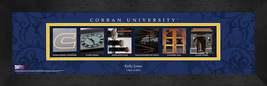 Personalized Corban University Campus Letter Art Framed Print - $39.95