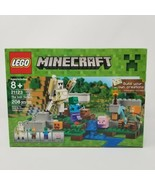 Lego Minecraft The Iron Golem #21123 NEW SEALED - $28.88