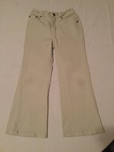 Faded Glory-jeans-Girls-Size 5 Reg.-khaki boot cut - $8.99