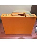 LOUIS VUITTON President Attache Briefcase Brown Epi Hard Trunk Case Auth... - $6,103.75