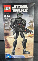 LEGO Star Wars Imperial Death Trooper (75121) Construction New In Box - $39.95
