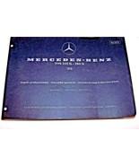 Mercedes 280 SL 250 SL Owners Parts book Manual  W 113 Pagoda original - $346.49