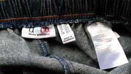 Denim & Company Elastic Waist Jeans Size LT Dark Blue image 7