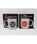 FineLife Products Extra Large 24 oz. Ceramic Cup Mug - New - Dog Dad or ... - $14.99