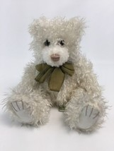 "First & Main Scraggles Teddy Bear Plush 12"" Stuffed Animal Off White Wit... - $24.49"