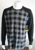 Polo Ralph Lauren Long Sleeve Plaid T Shirt Black/Gray Size XL Soft Cotton - $41.38