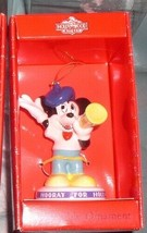 Mickey Mouse Hollywood Schmid Porcelain Disney Ornament - $24.99