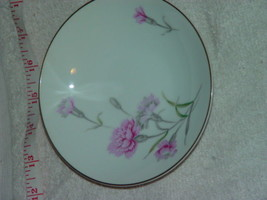 "Royal Court Fine China Pink Carnation Bowls 5.5"" Japan - $9.00"