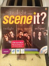 The Twilight Saga Scene It? DVD Board Game Includes Movie Clips & Images... - $17.99
