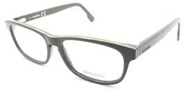 Diesel Rx Eyeglasses Frames DL5197 020 53-15-145 Mud / Yellow Stripe - $50.96