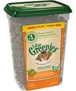 FELINE GREENIES Natural Dental Care Cat Treats 9.75-11 oz - $9.99+