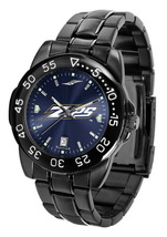 Akron Zips Mens Watch Fantom Gunmetal Finish Blue Dial - $67.50