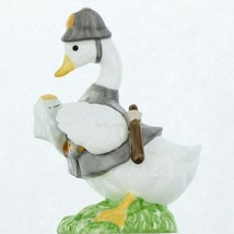 Vintage EIC 1986 Porcelain Occupational Goose Figurine Country Bobby Policeman