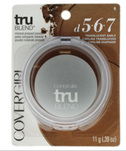 BUY 3 GET 1 FREE (Add4) Covergirl TruBlend Mineral Pressed Powder Sable ... - $5.43+