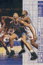 1994-1995 Upper Deck Collector's Choice Card Derick Coleman #388 Bluepri... - $1.97