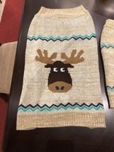 Dog Sweater  Moose   XL NEW WINTER - $14.84