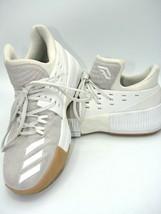 EUC Adidas D Lillard 3 DAME Basketball Shoes 2017 - Men's Size 8.5 White... - €53,34 EUR