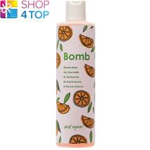 Zest Appeal Shower Gel 300 Ml Bomb Cosmetics Orange Mandarin Natural New - $11.77