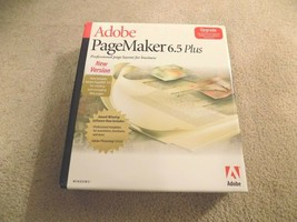 Adobe PageMaker 6.5 Plus Professional Page Layout For Business Windows Kit - $29.69