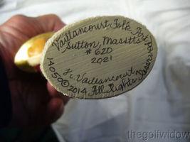 Vaillancourt Folk Art Brocaded Coat Santa Signed by Judi Vaillalncourt image 7