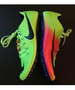 Nike Zoom JA Fly 3 Sprint Track Spikes 882032-999 Volt Pink Olympics Rio... - $69.29