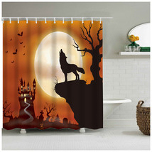 Shower Curtain The Lovely Cute Dressed Up Skull with A Charming Smile Pl... - $31.00+