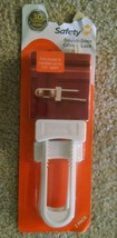 "Safety 1st Double Door Cabinet Lock (2 Pack) Fits Cabinets Up To 5.5"" Ap... - $3.98"