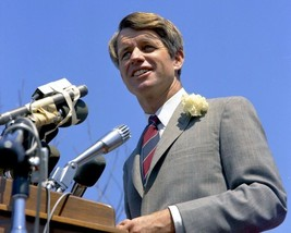 Robert Kennedy BL Vintage 8X10 Color Political Memorabilia Photo - $6.99