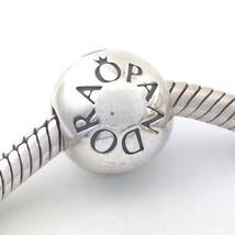 Authentic Pandora Loving Pandora Sterling Silver Clip Lock Bead 791015 New - $34.19