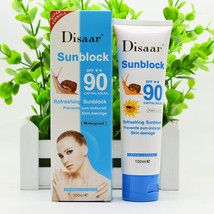 snail sunscreen cream 100ml,Protection Face Cream Disaar Sunblock 90++ P... - $17.00