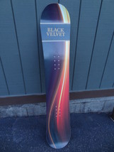 "RARE  BLACK VELVET  SNOW BOARD  ADVERTISING PIECE  60"" INCHES LONG SIGN ... - $99.99"