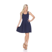 White Mark's Crystal Fit and Flare Dress - Navy - $24.99