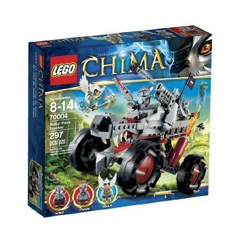 Lego Legends of Chima Wakz' Pack Tracker (70004) [New] Building Toy Set
