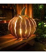 Halloween Prop Yard Decor Pumpkin Lantern Outdoor Light Statue Patio Dec... - $79.99