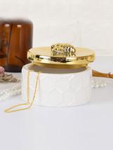 Ceramic Jewelry Storage Jar Delicate Modern Style Necklace Bracelet Ring... - $16.99
