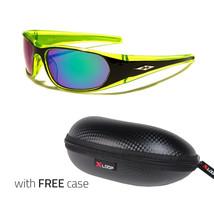 Men Sport Sunglasses Wrap Around Driving Glasses Aviator Outdoor Sports UV400 US - $9.99