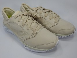 Saucony Kineta Relay Suede Men's Running Shoes Size 9 M EU 42.5 Cream S40006-1